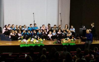 Nastop otroškega pevskega zbora Glasbene šole Ilirska Bistrica z gosti