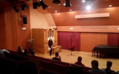 Srečanje učencev orgel primorskih glasbenih šol